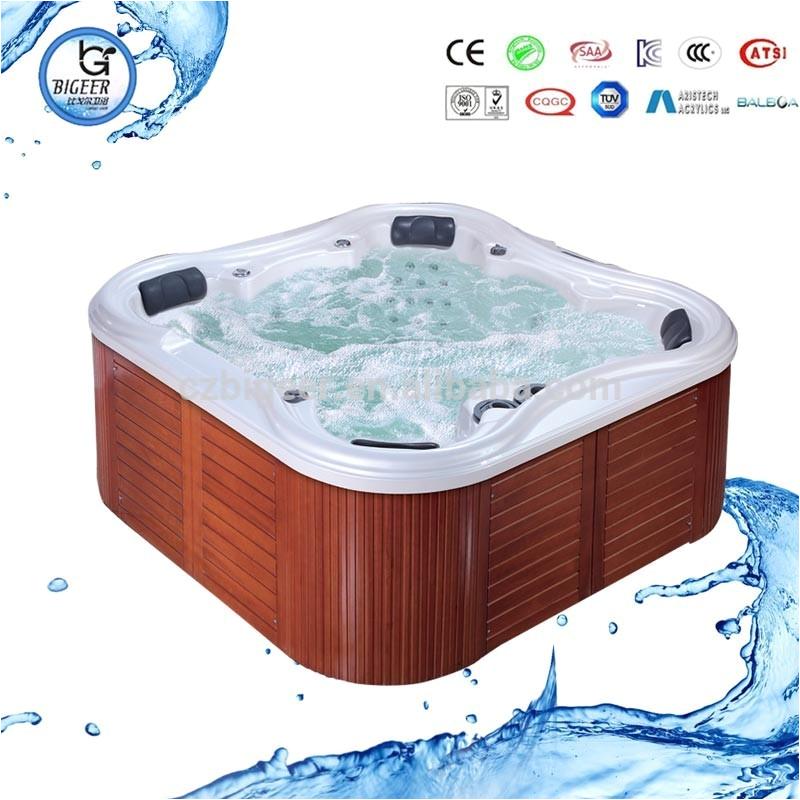 Spa tub 6 person hot tubs