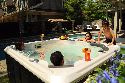 6 Foot Jacuzzi Bathtub 6 Person Hot Tub