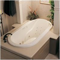 6 foot oval tub
