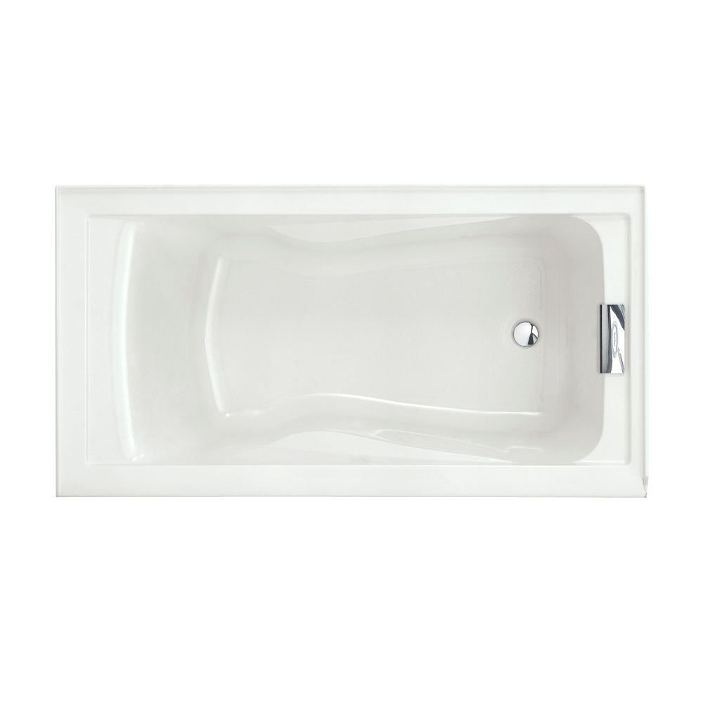 ease your mind and body with cozy 6 ft jacuzzi tub design