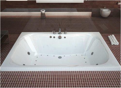 atlantis whirlpools 4060nar neptune rectangular air jetted bathtub 40 x 60 center drain white