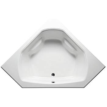 60 Inch Whirlpool Bathtub Malibu Home Mhpa6060w04 Panama Corner Whirlpool Bathtub