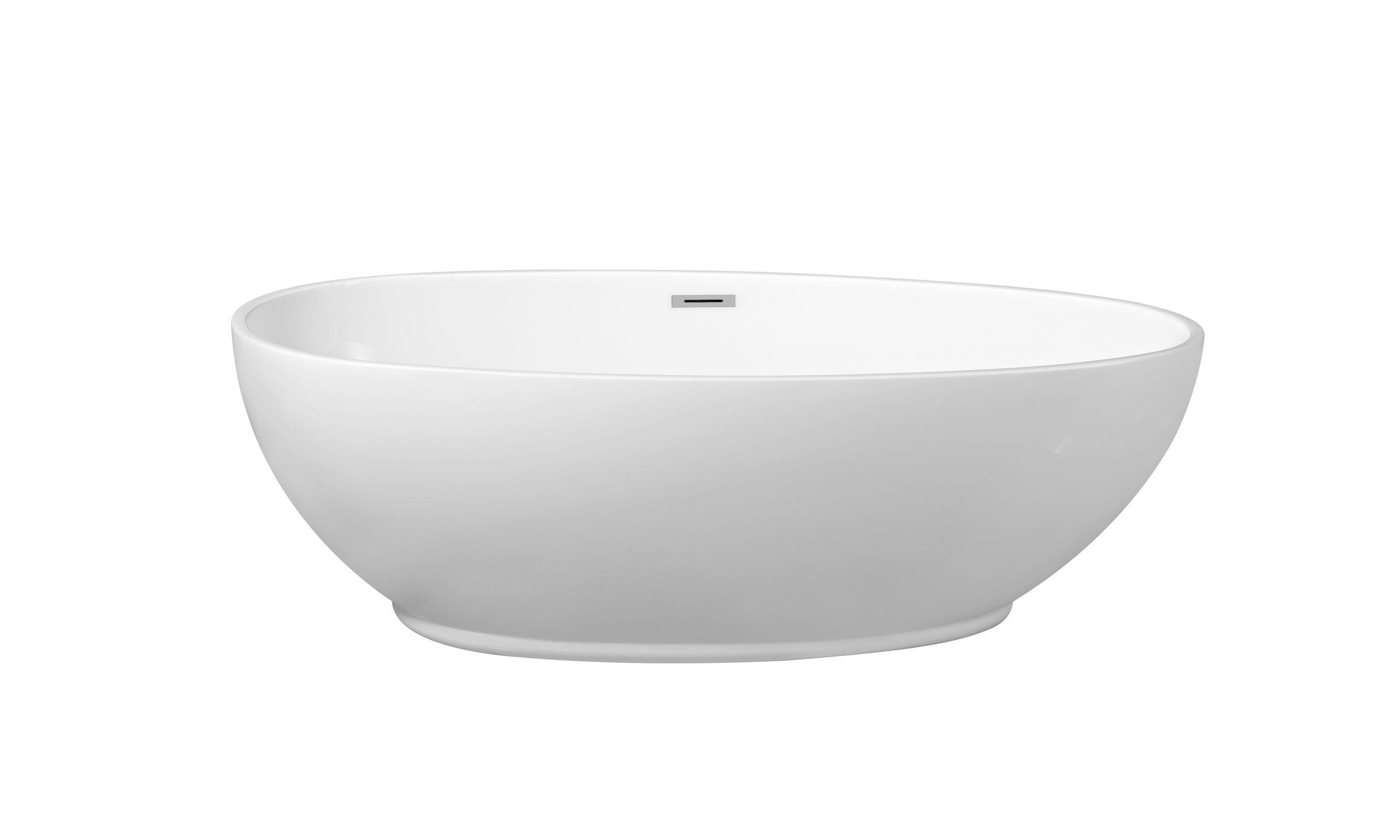 63 Inch Freestanding Bathtub Streamline N 380 63fswh Fm White 63 Inch soaking
