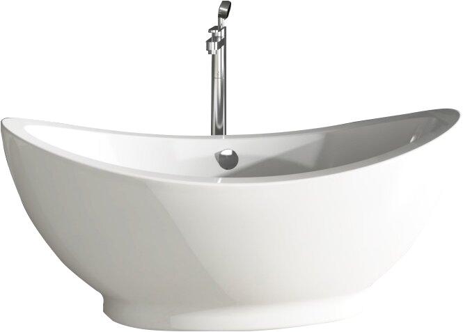 fine fixtures freestanding 28 x 65 bathtub finf1022