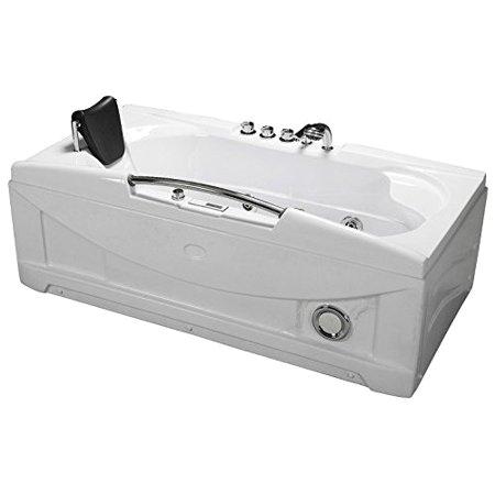 66 Jetted Bathtub 66 Inch White Bathtub Whirlpool Jetted Spa Hot Tub 19