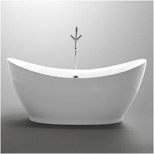ANZZI Reginald Series 68 x 31 Freestanding Soaking Bathtub FTAZ091 L590 K ANZI1746 refid=BPA457 ANZI1746