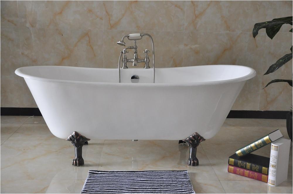 72 Freestanding Bathroom Cast Iron Bathtub