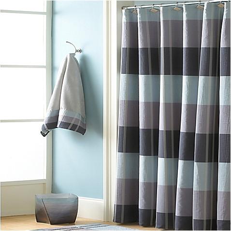 croscill fairfax 84 inch x 72 inch extra long shower curtain slate
