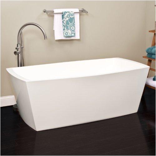 59 avie acrylic freestanding tub no overflow your extra price