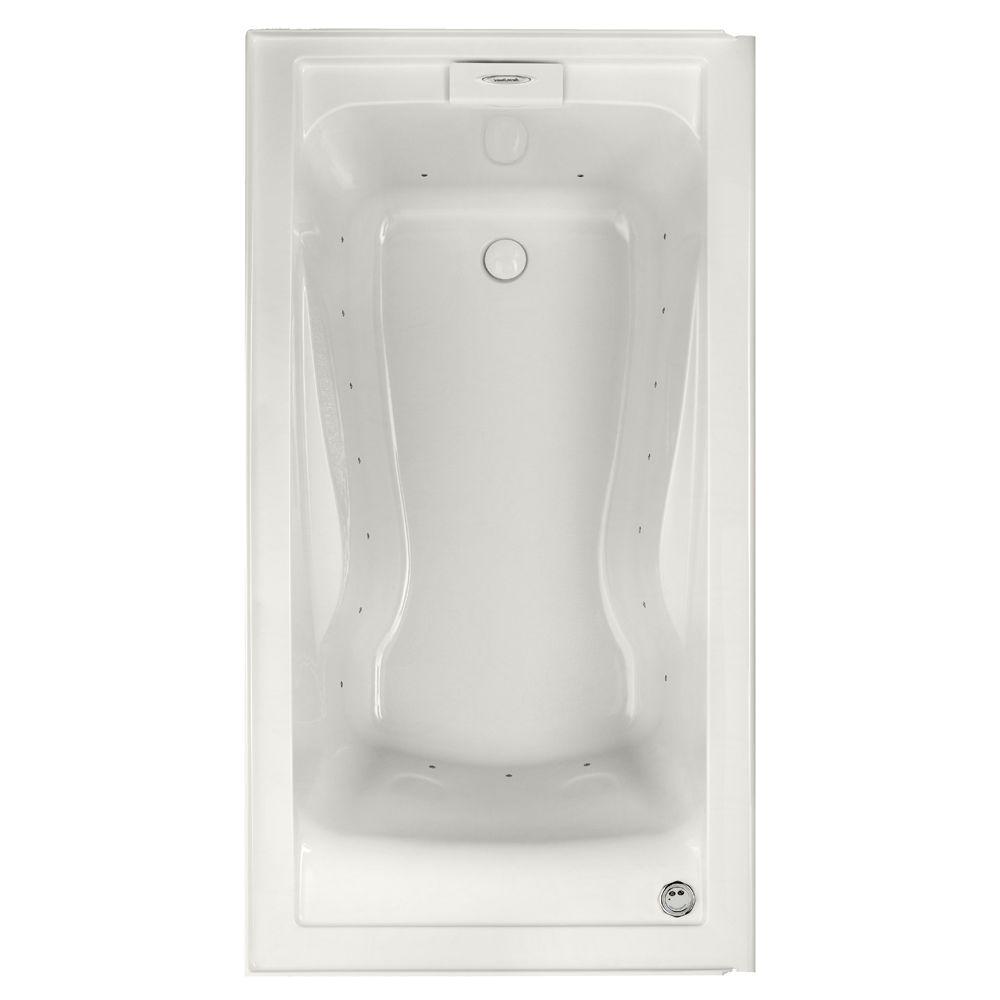 Alcove Air Bathtubs American Standard Evolution 60 In Acrylic Right Drain