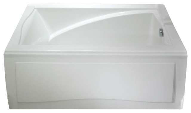 60x32 neptune alcove delight bathtub with skirt tonic massage system contemporary baths