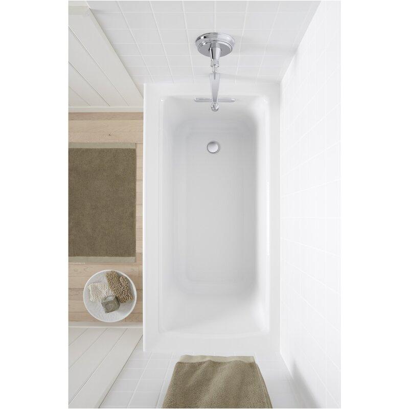 k 1946 la 0 7 96 kohler archer 60 x 30 alcove soaking bathtub koh