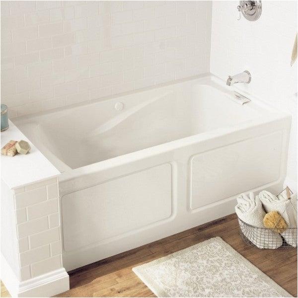 Alcove Bathtub 58 Inches Shop American Standard Evolution 2425v Lho 002 020 White