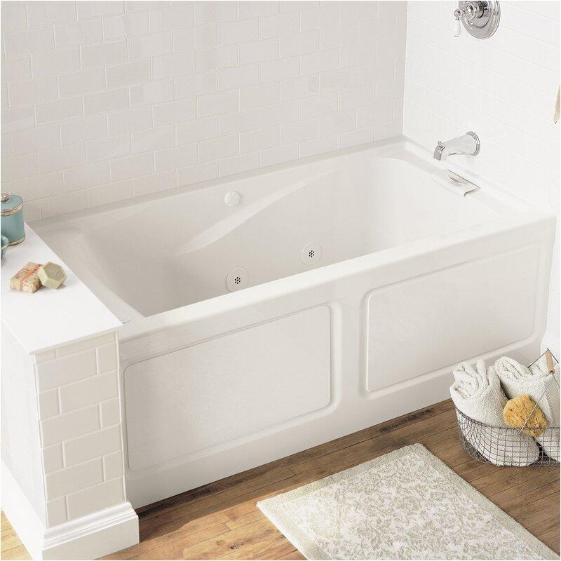 american standard evolution 60 x 32 alcove soaking bathtub asd9439