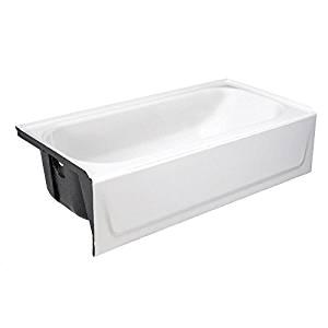 "Alcove Bathtub 60 X 28 Bootz 011 2345 Lh Mauicast Deep soaking Bathtub 60"" X 30"