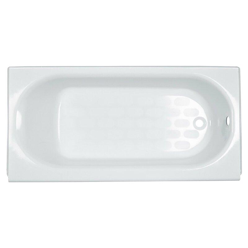 """Alcove Bathtub 60 X 34 American Standard Princeton 60"""" X 34"""" Alcove soaking"""
