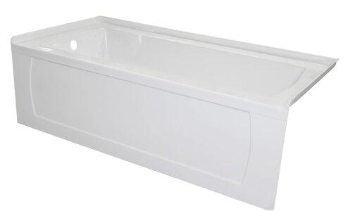 Valley Acrylic Ltd Signature Acrylic 60 x 34 Alcove Soaking Bathtub VLAC1753 L590 K VLAC1753 refid=BPA49 VLAC1753