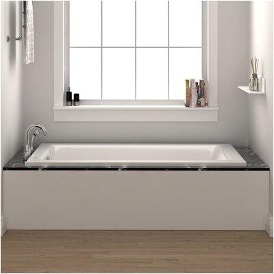 Fine Fixtures Drop In or Alcove Bathtub 32 x 48 Soaking Bathtub FINF1003