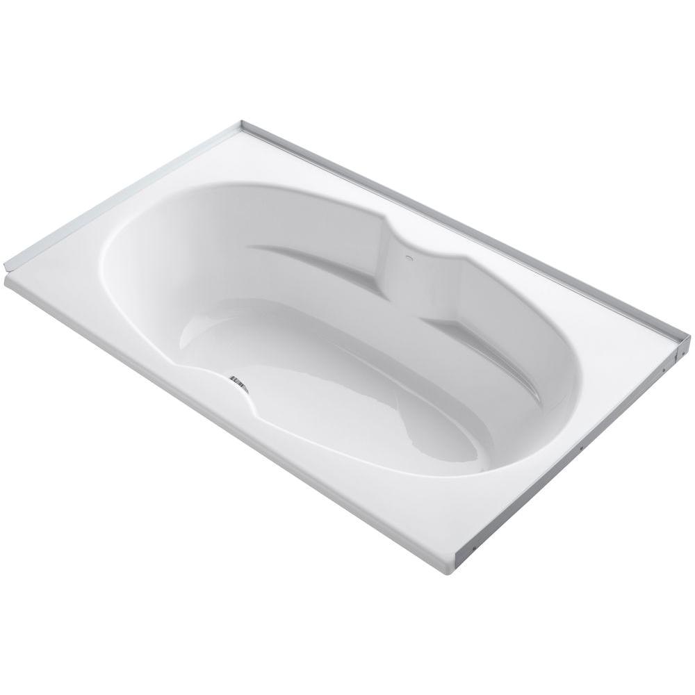 Alcove Bathtub Center Drain Kohler Proflex 6 Ft Center Drain Alcove with Tile Flange