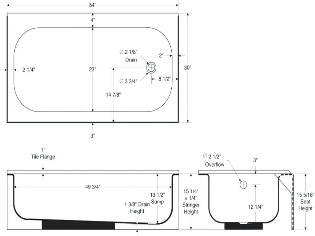 best bathtub dimensions ideas home hk1lh