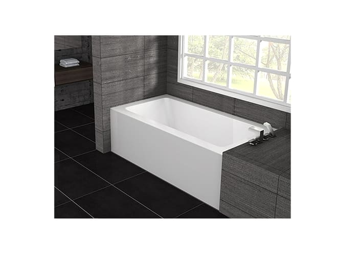 Alcove Bathtub Depth Pure Bathtub for Alcove Installation Bathtubs