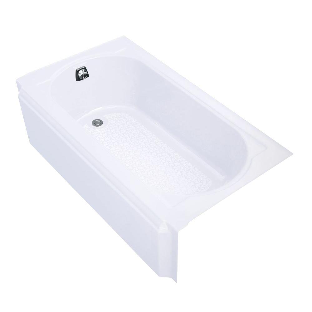 Alcove Bathtub Installation Instructions Alcove Bathtubs Bathtubs the Home Depot