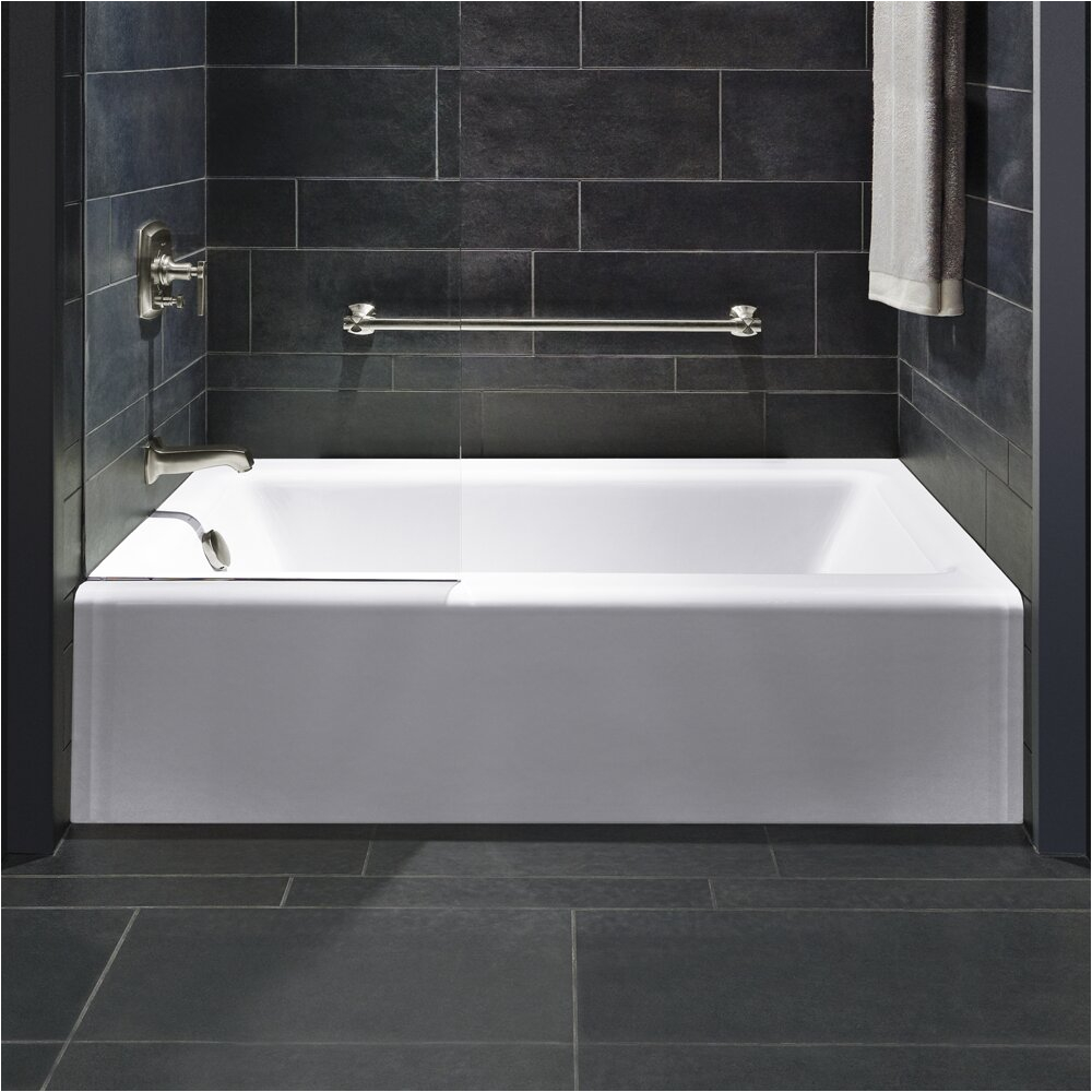 Kohler Bellwether Alcove 60 x 32 Soaking Bathtub KOH