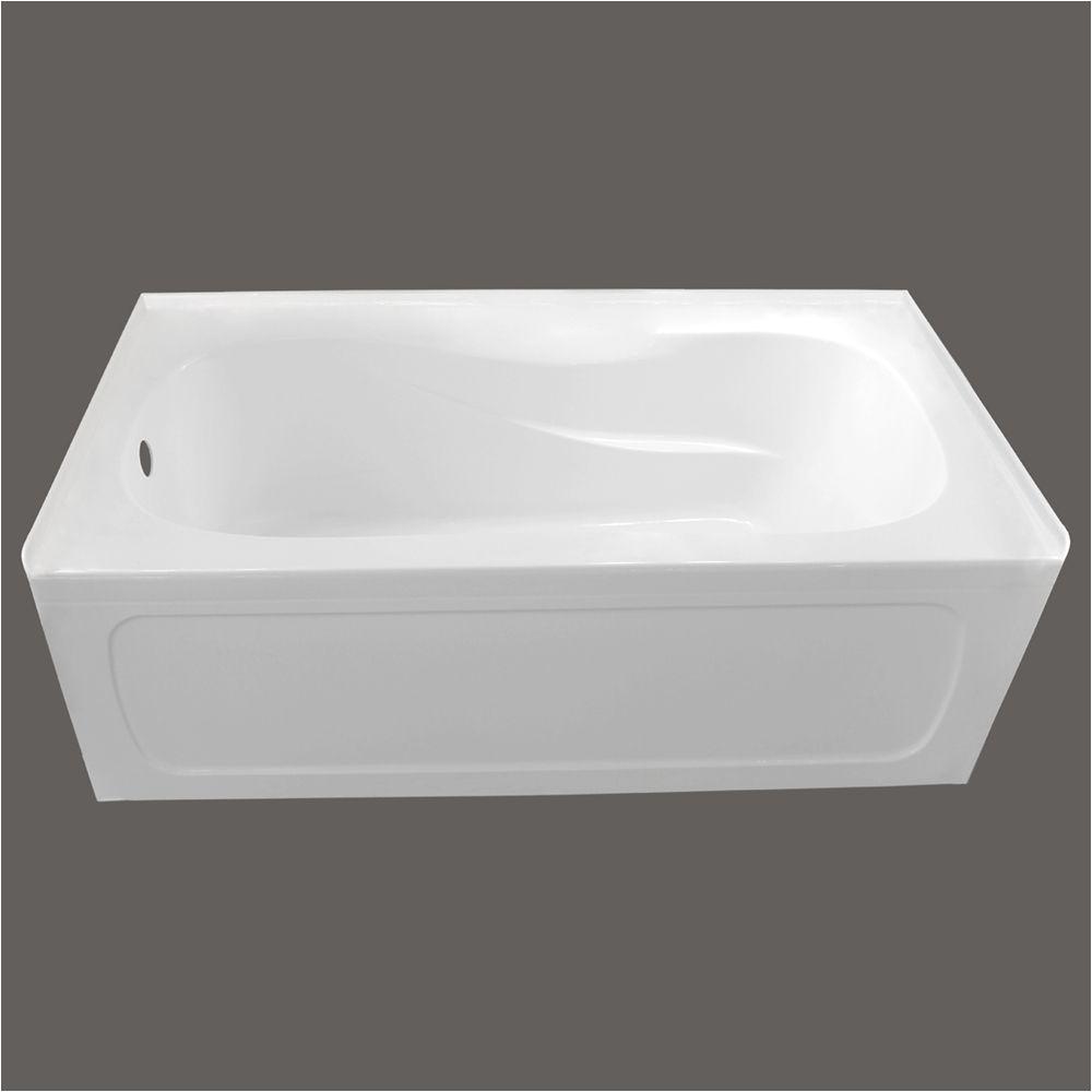 p avenue alcove bathtub with right hand drain