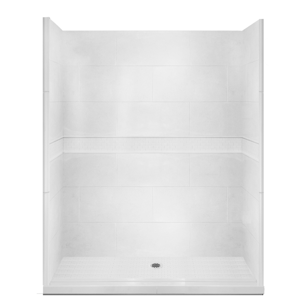 Alcove Bathtub Styles Classic Alcove Shower Kit Style & Color Options – American