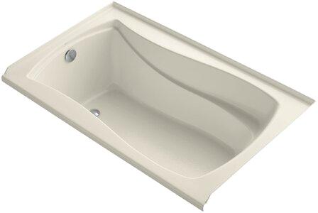 Kohler Mariposa Alcove Vibracoustic 60 x 36 Soaking Bathtub K1239VBLW L590 K KOH refid=BPA457 KOH &PiID[]= &PiID[]=