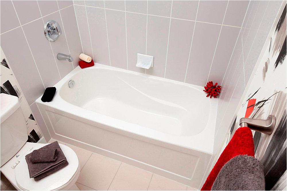 Alcove Bathtubs Canada Sydney 5 Ft Rectangular Left Hand Alcove Acrylic Non