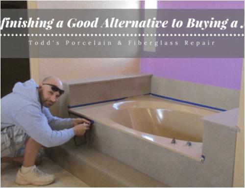 can fiberglass bathtub refinished