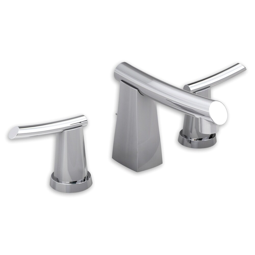 American Standard Green Tea Widespread Bathroom Sink Faucet with Double Lever Handles 7010 801 0 ASD6897