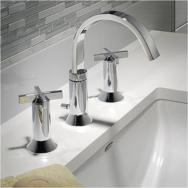 berwick widespread bathroom faucet with cross handles