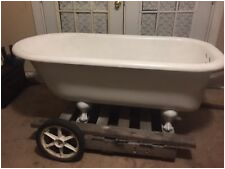 antique clawfoot tub
