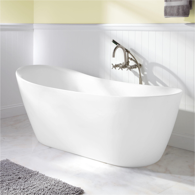 66 ennis acrylic freestanding tub
