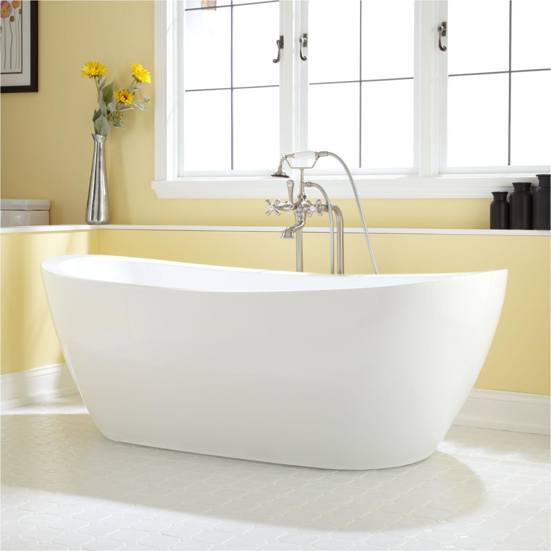 69 leila freestanding acrylic tub