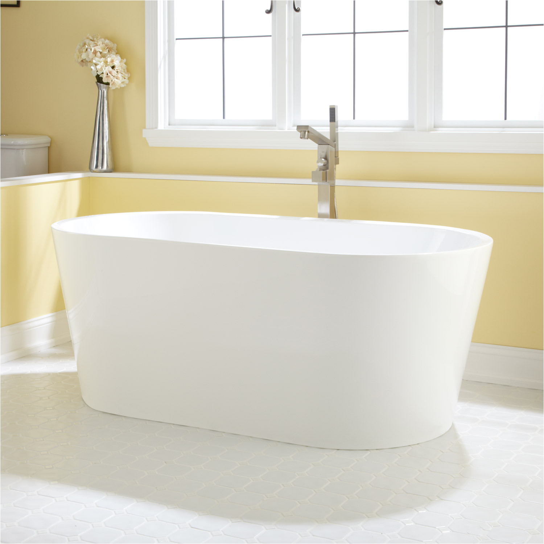 eden acrylic freestanding tub