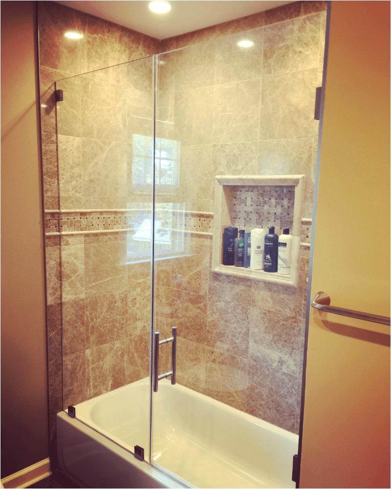 frameless glass bathtub doors redefining bathtub space