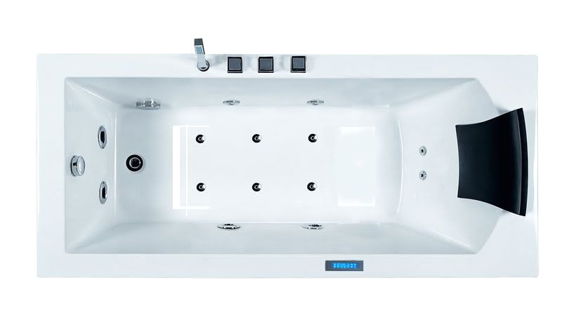 Ariel Platinum Am154jdtsz Whirlpool Bathtub Ariel Platinum Am154 Whirlpool Bath Tub Modern Style