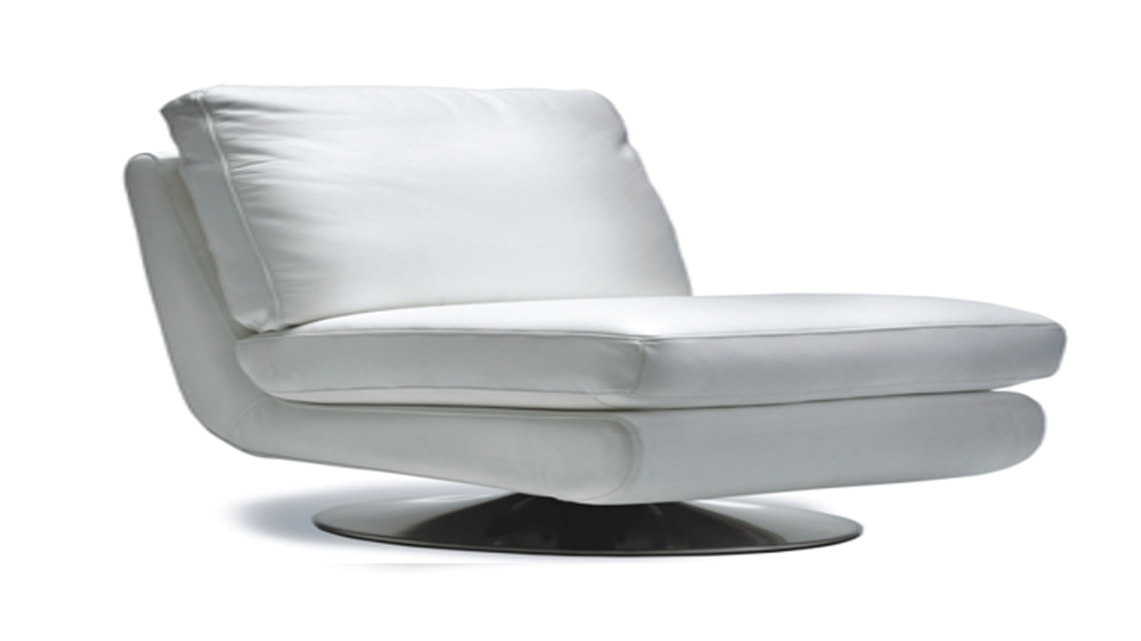 Armless Swivel Accent Chair Armless Executive Chair White Leather Armless Swivel