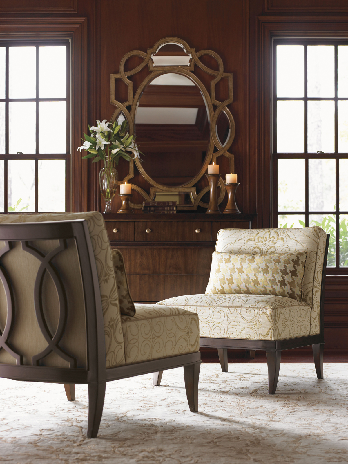 charming armless chair for home furniture idea