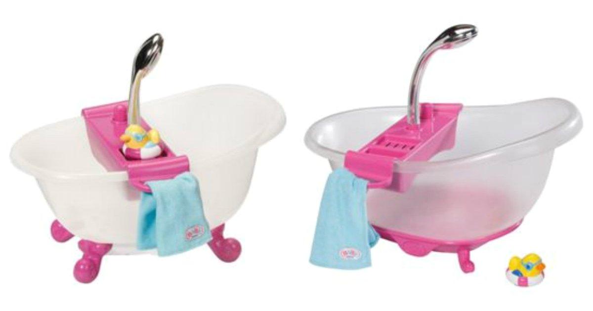 baby born interactive bathtub and duck playset gbp 1999 ebay argos