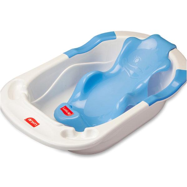 Baby Bath Seat Lie Down Baby Bath Seat – Blue – Luvlap