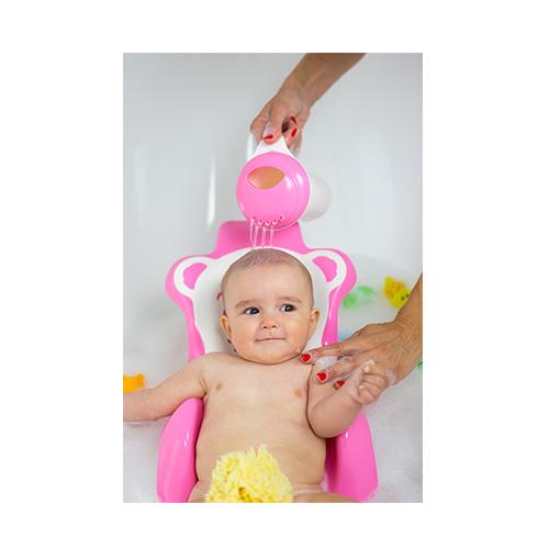 ok baby buddy bath seat with slip free rubber