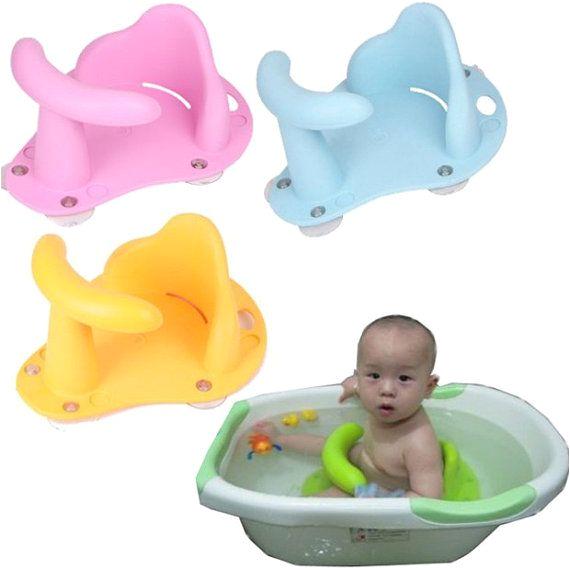 Baby Bath Seat Vs Bathtub Baby Infant Kid Child toddler Bath Seat Ring Anti Slip