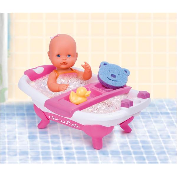 "Baby Bath Tub Kmart Nenuco by Famosa 14"" My Little Nenuco Doll with Bath"