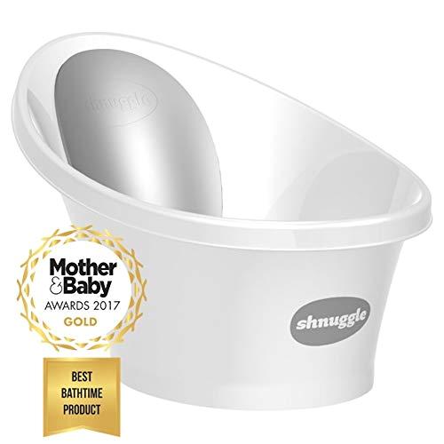 Baby Bath Tub Qatar Shnuggle Baby Bath with Bum Bump Support and Cosy Foam