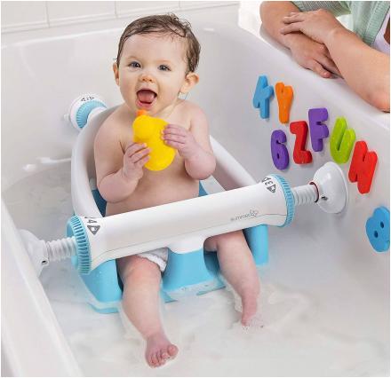 locking baby bathtub seat