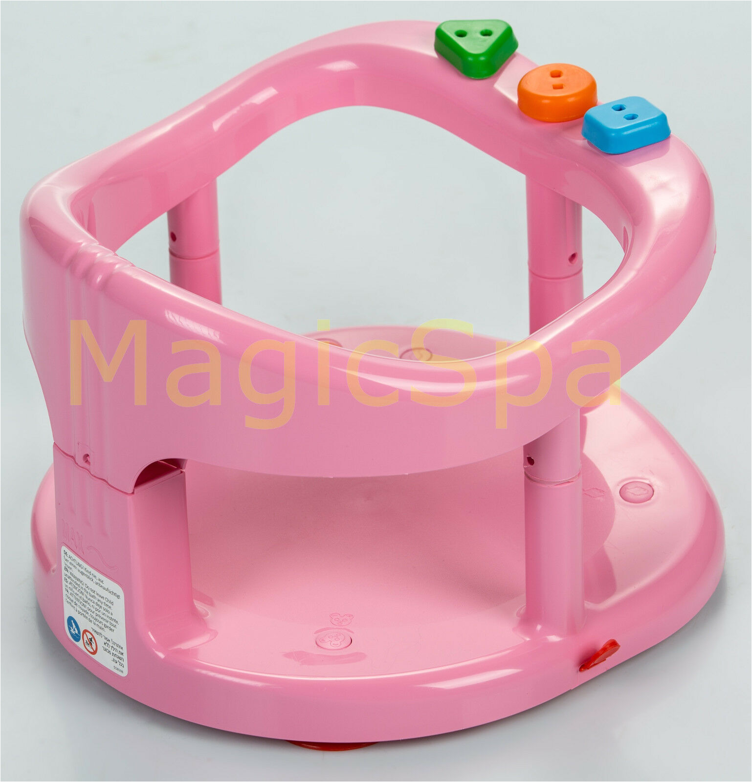 Baby Bath Tub Seats Rings Infant Baby Bath Tub Ring Seat Keter Pink Fast Shipping